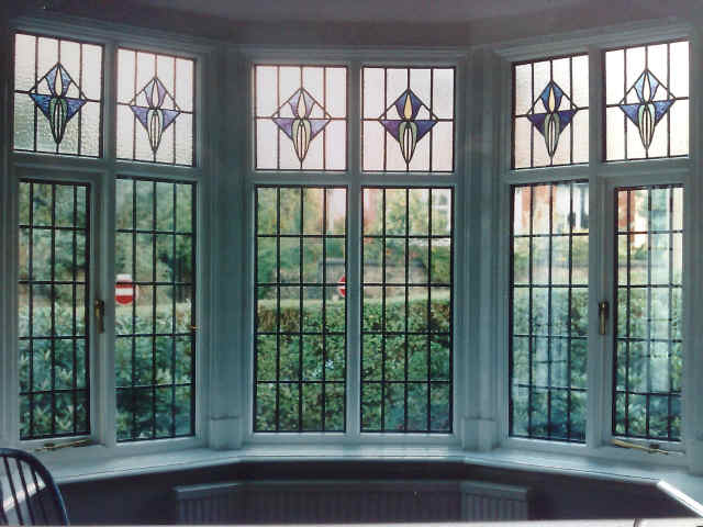 Encapsulated Stained Glass Triple Double Glazing