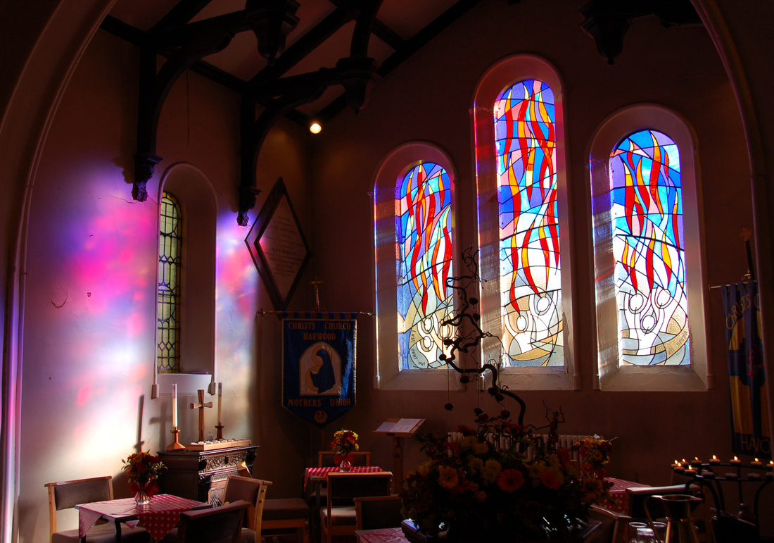 Church stained glass stained glass specialists the for Stained glass window church